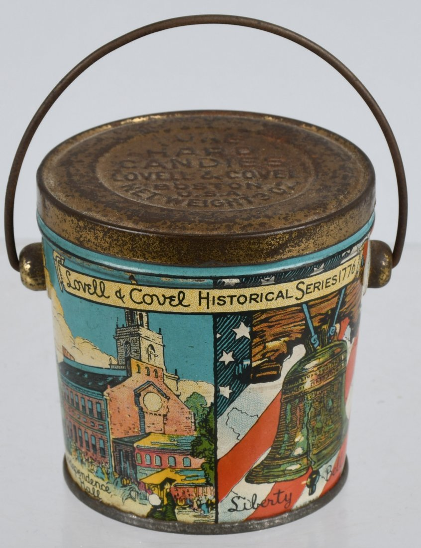 LOVELL & COVEL HISTORICAL SERIES 1776 CANDY PAIL