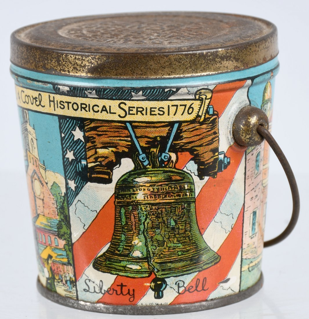 LOVELL & COVEL HISTORICAL SERIES 1776 CANDY PAIL - 2
