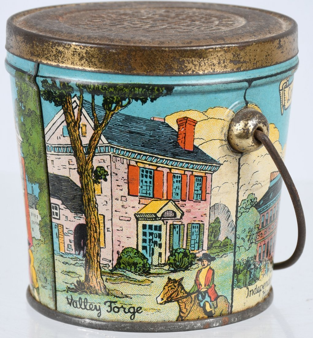 LOVELL & COVEL HISTORICAL SERIES 1776 CANDY PAIL - 4