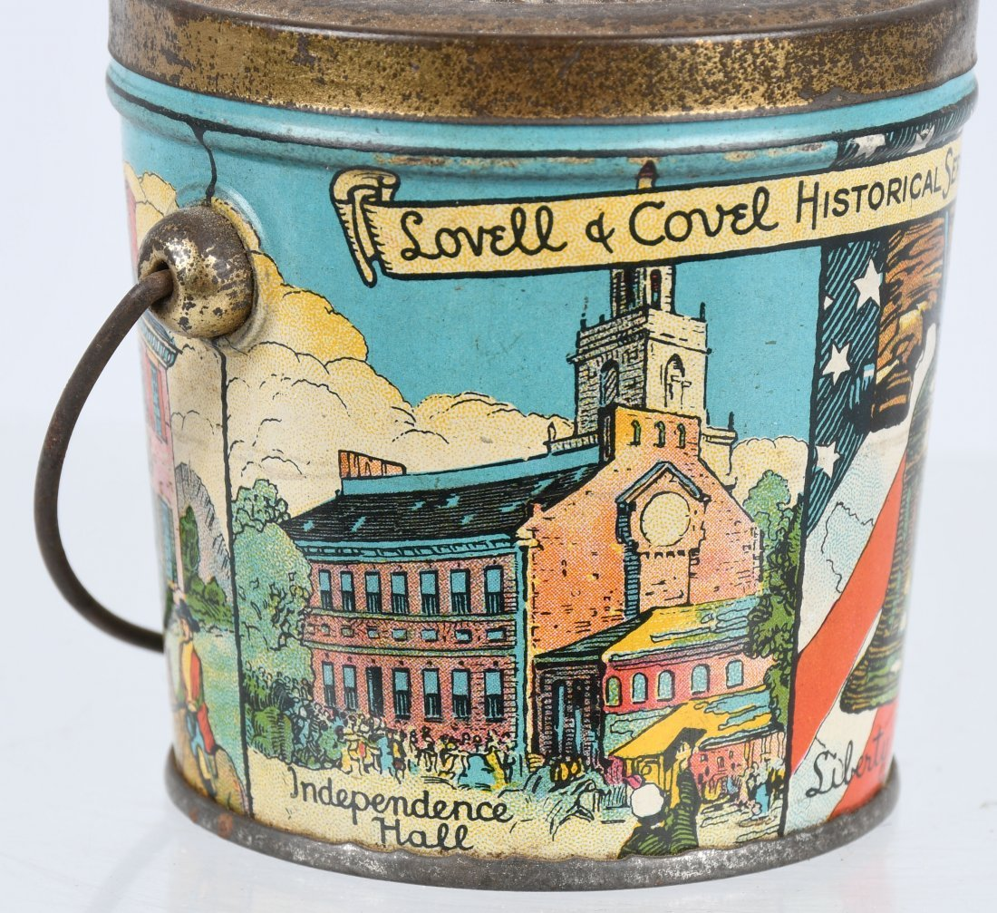 LOVELL & COVEL HISTORICAL SERIES 1776 CANDY PAIL - 5