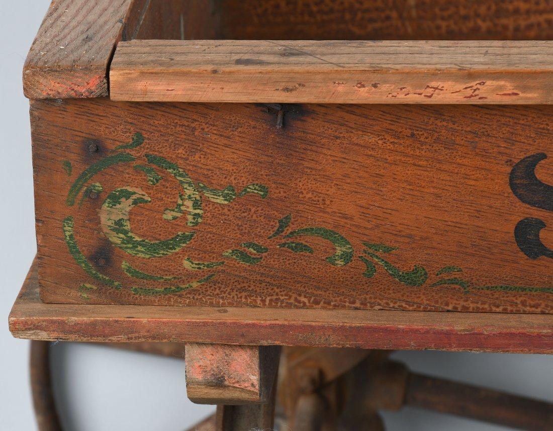 1906 WOOD STAR COASTER WAGON, SPOKED WHEELS - 10