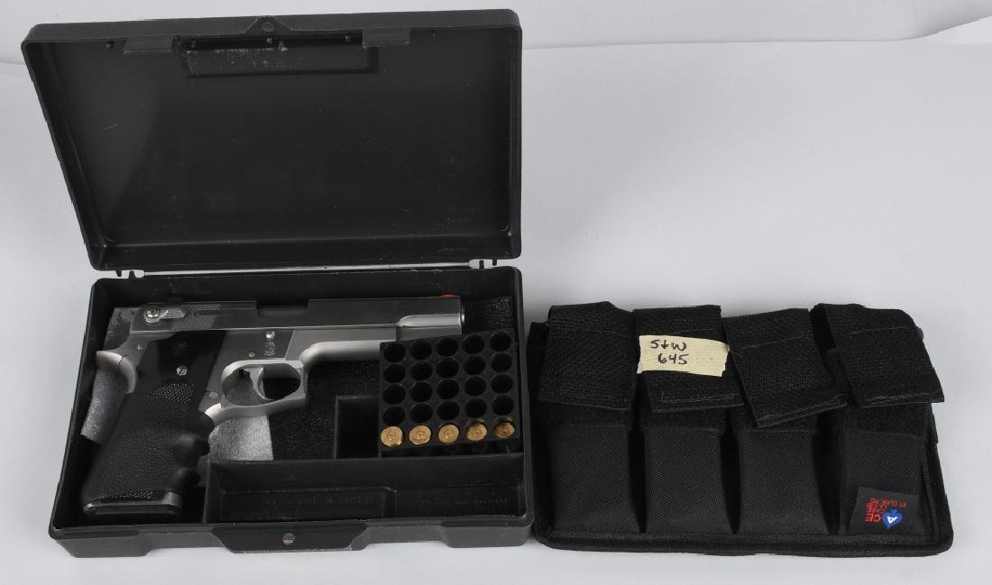 SMITH & WESSON MODEL 645, .45 PISTOL, BOXED
