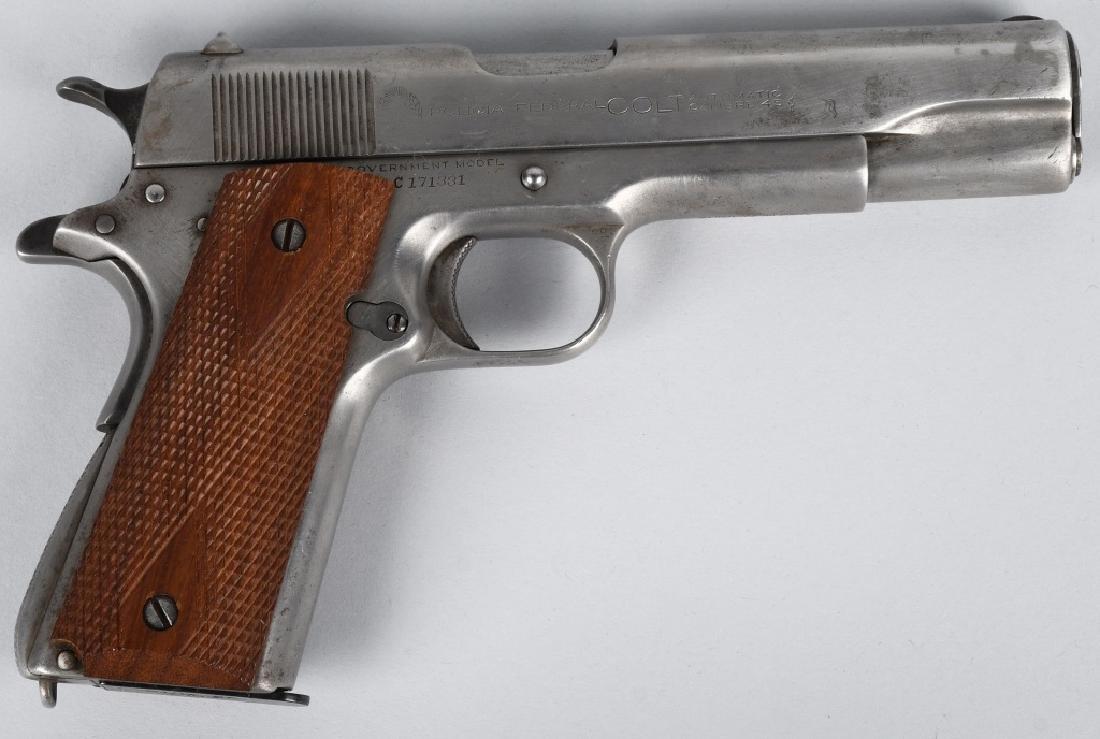 COLT MODEL 1911 POLICIA FEDERAL .45 PISTOL