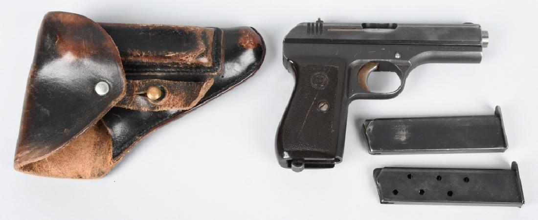 CZECH CZ 27 NAZI MARKED 7.65mm PISTOL & HOLSTER