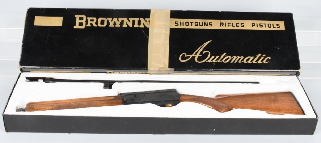 BROWNING .20 GA. SEMI AUTO SHOTGUN, BOXED