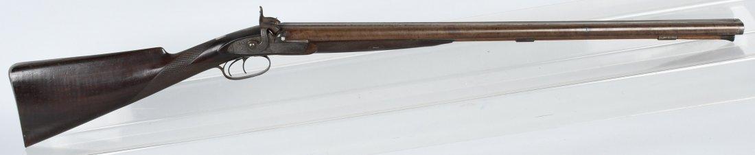 ENGLISH STEVENS 19th CENTURY SXS, 12 GA. SHOTGUN