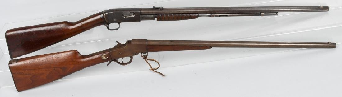 2-RIFLES REMINGTON .22, and H & R .32