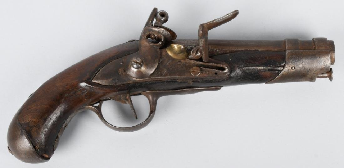 EARLY 19th CENTURY FLINTLOCK .62 PISTOL