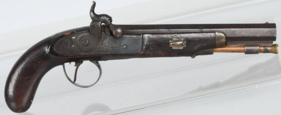 A.W. SPIES PERCUSSION 19th CENTURY, .50 PISTOL