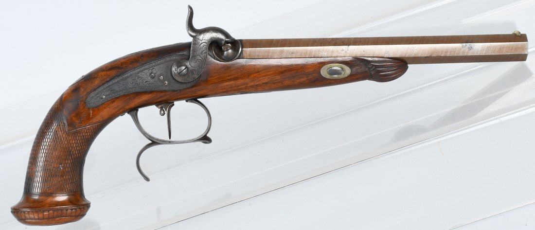 PERCUSSION 19th CENTURY, .50 PISTOL