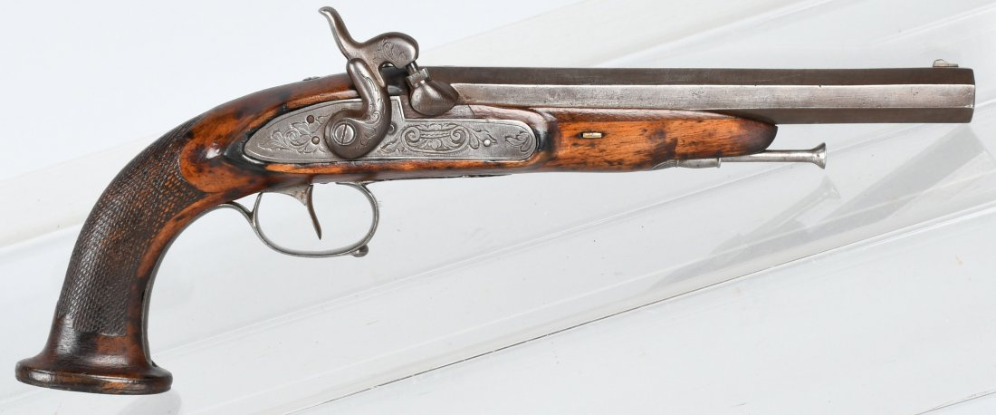 BELGIAN PERCUSSION 19th CENTURY, .58 PISTOL