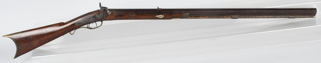 1850'S A.W. SPIES, REINHART PERCUSSION .45 RIFLE