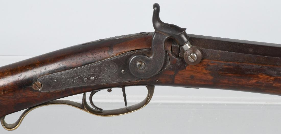 1850'S A.W. SPIES, REINHART PERCUSSION .45 RIFLE - 2
