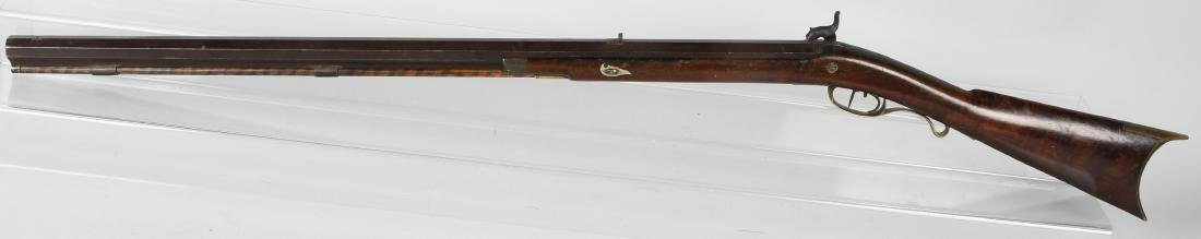 1850'S A.W. SPIES, REINHART PERCUSSION .45 RIFLE - 6