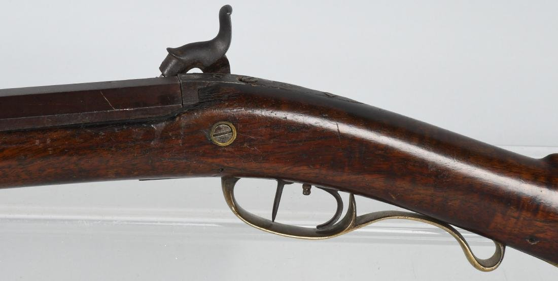 1850'S A.W. SPIES, REINHART PERCUSSION .45 RIFLE - 7