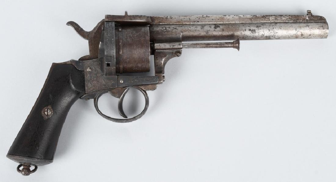 LeFAUCHEUX MODEL 1858, 10mm REVOLVER