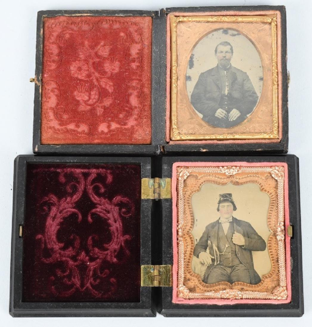 CIVIL WAR 1/9TH SOLDIER AMBROTYPE LOT