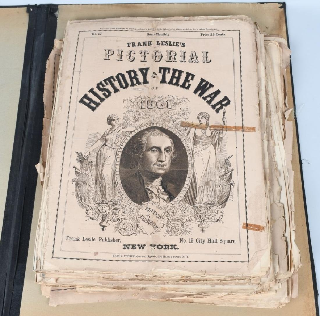 CIVIL WAR EDITIONS FRANK LESLIE PICTORIAL HISTORY