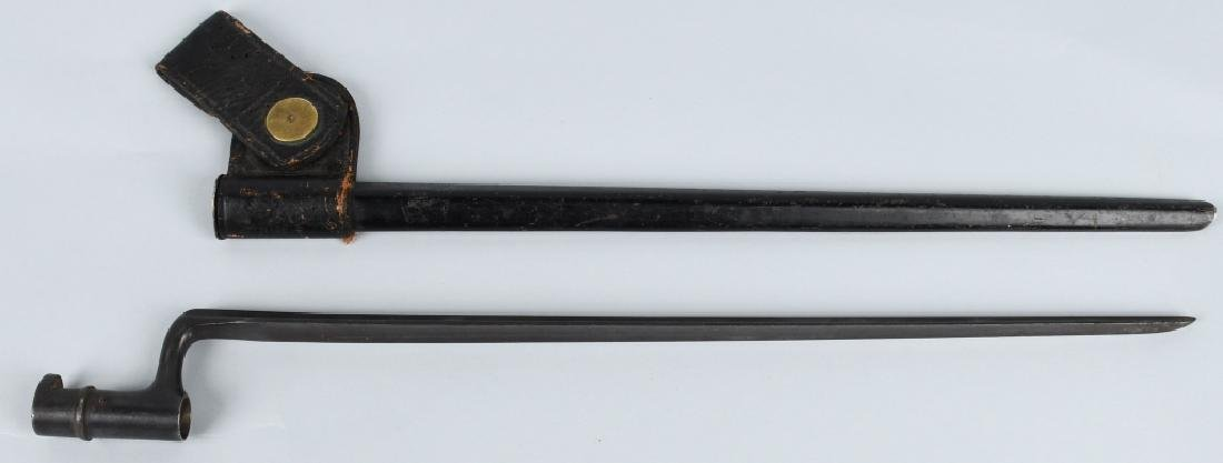 PEABODY RIFLE ANGULAR BAYONET & SCABBARD