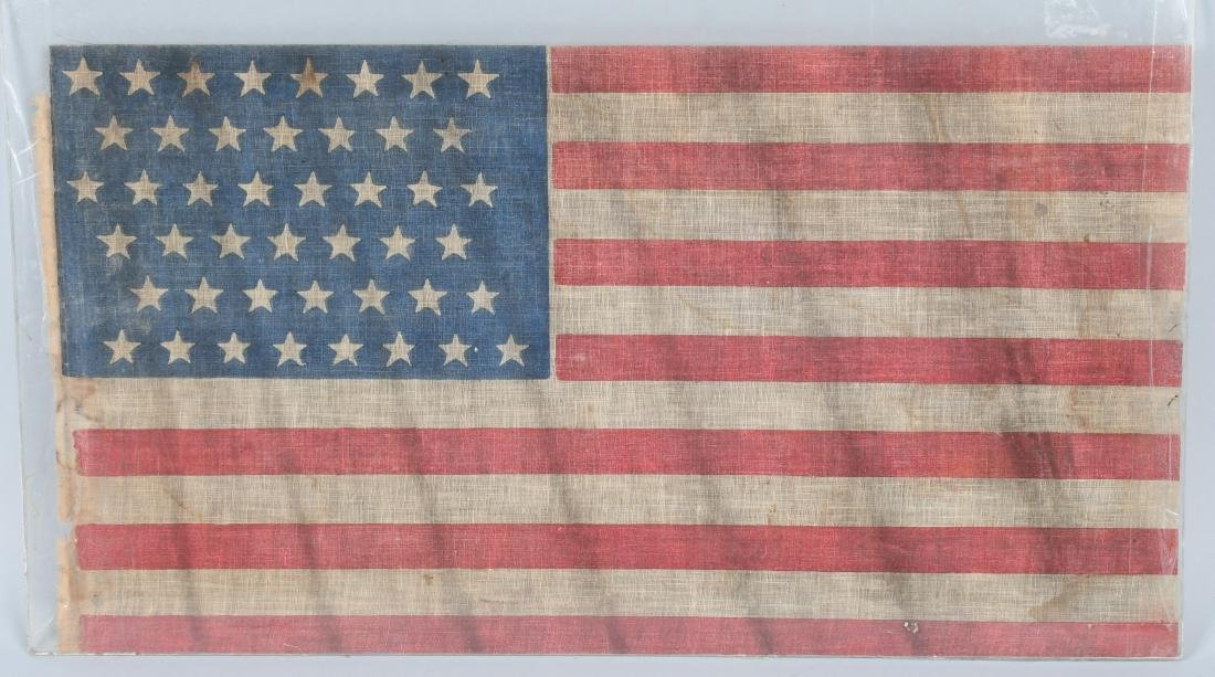 SPANISH AMERICAN WAR 45 STAR FLAG - SPAN AM