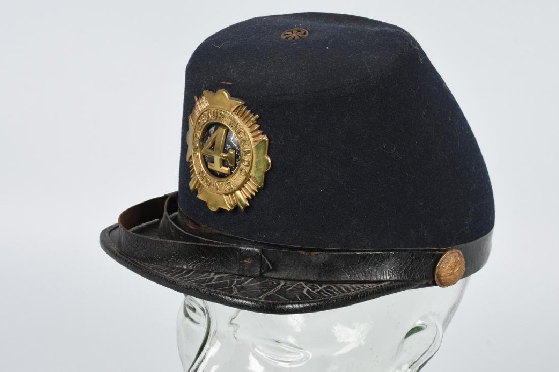 1880s-1890s MARYLAND NATIONAL GUARD KEPI SHAKO
