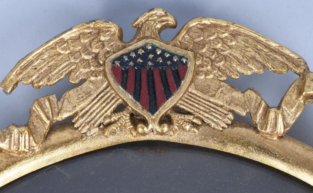 WWI U.S. NAVY FRAMED PHOTO SAILOR - U.S.S. AMPHION - 4