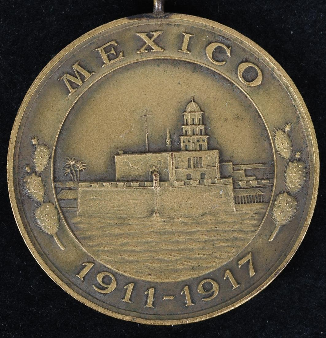 WWI MEXICAN CAMPAIGN NAVY MEDAL NO.& VICTORY MEDAL - 2