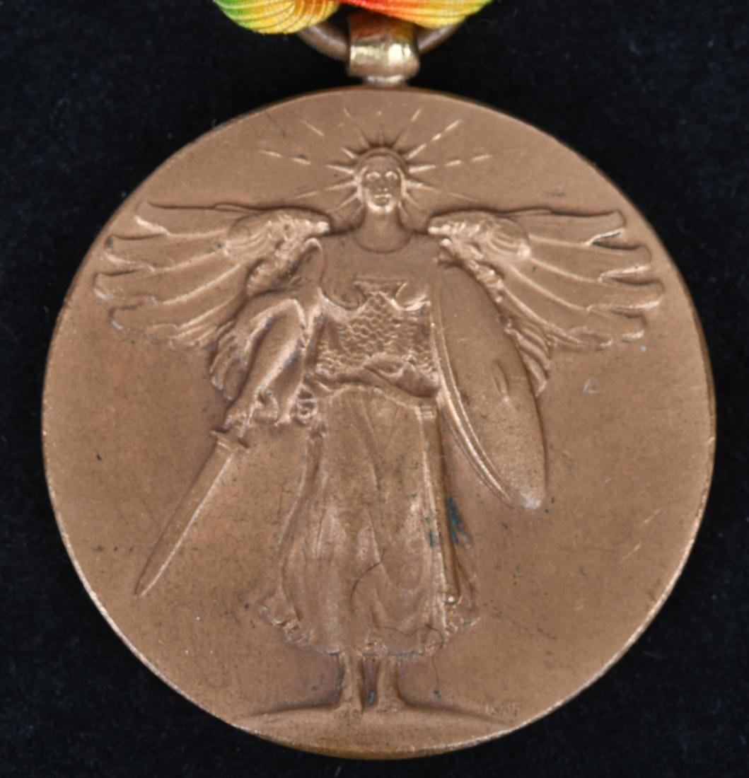 WWI MEXICAN CAMPAIGN NAVY MEDAL NO.& VICTORY MEDAL - 3