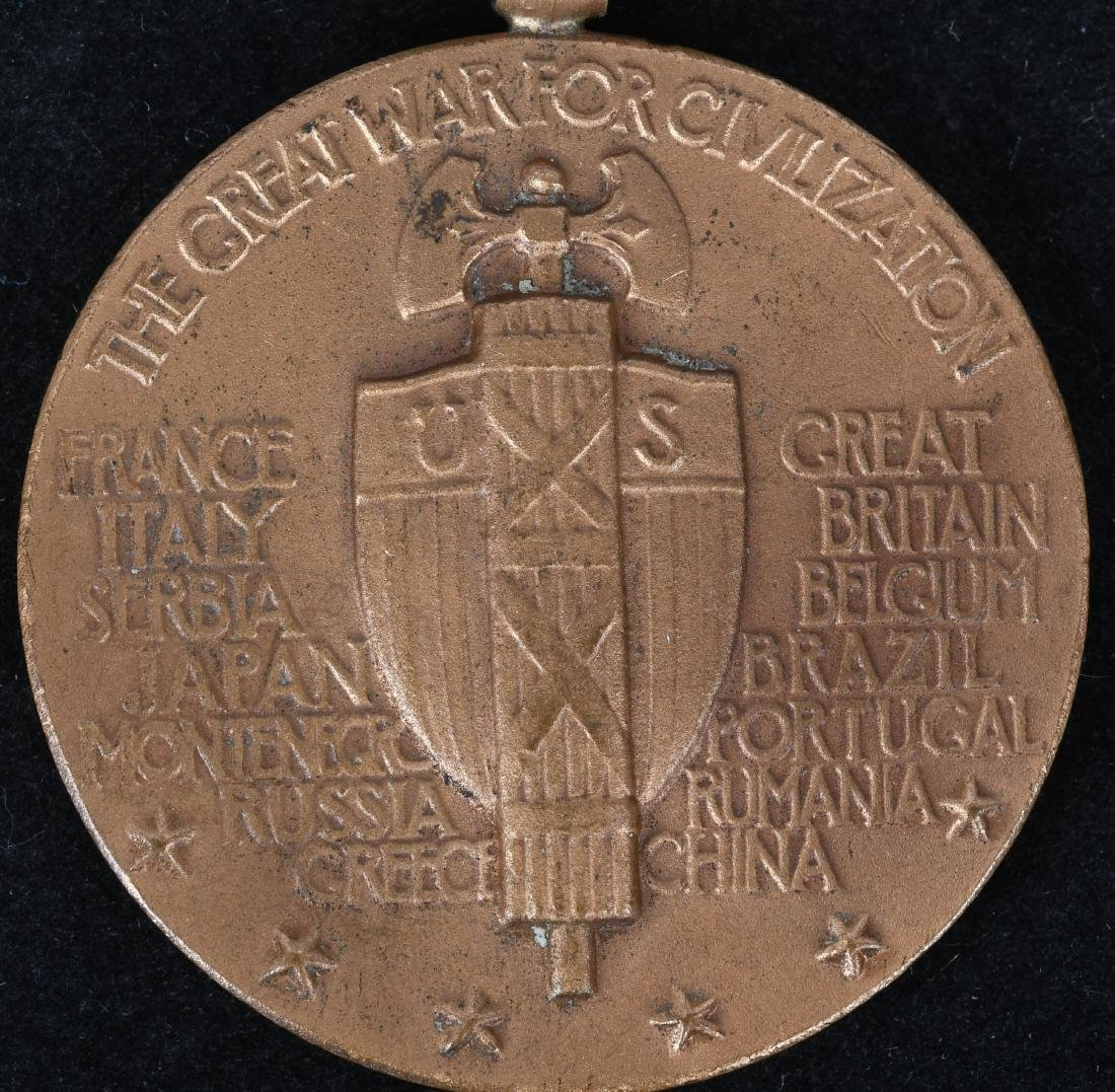 WWI MEXICAN CAMPAIGN NAVY MEDAL NO.& VICTORY MEDAL - 6