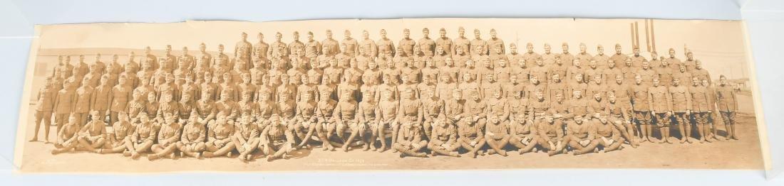 WWI US AIR SERVICE 35TH BALLOON CO. YARD LOG PHOTO