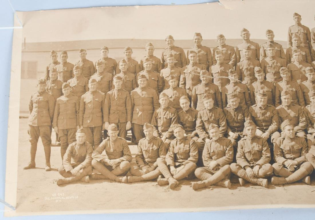 WWI US AIR SERVICE 35TH BALLOON CO. YARD LOG PHOTO - 3