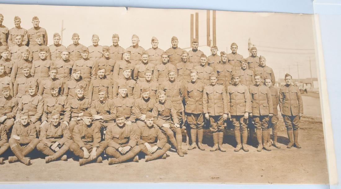WWI US AIR SERVICE 35TH BALLOON CO. YARD LOG PHOTO - 6
