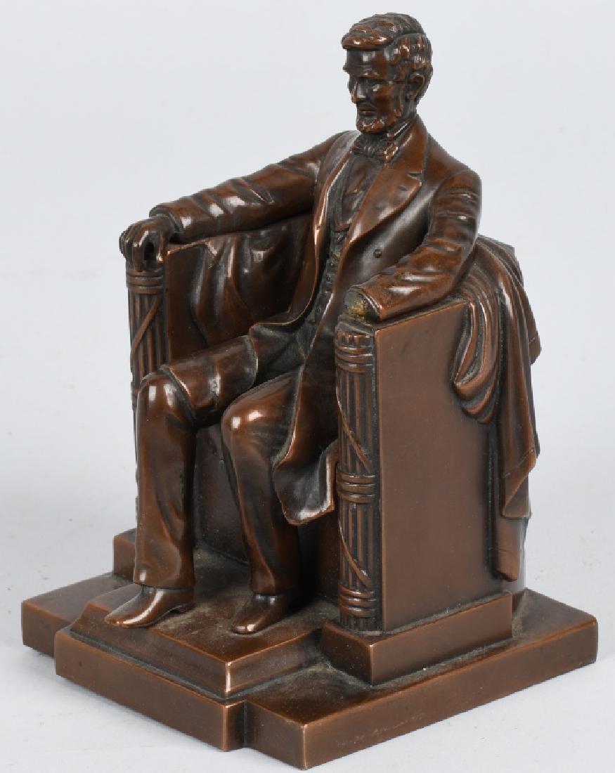 PRESIDENT ABRAHAM LINCOLN BRONZE STATUE