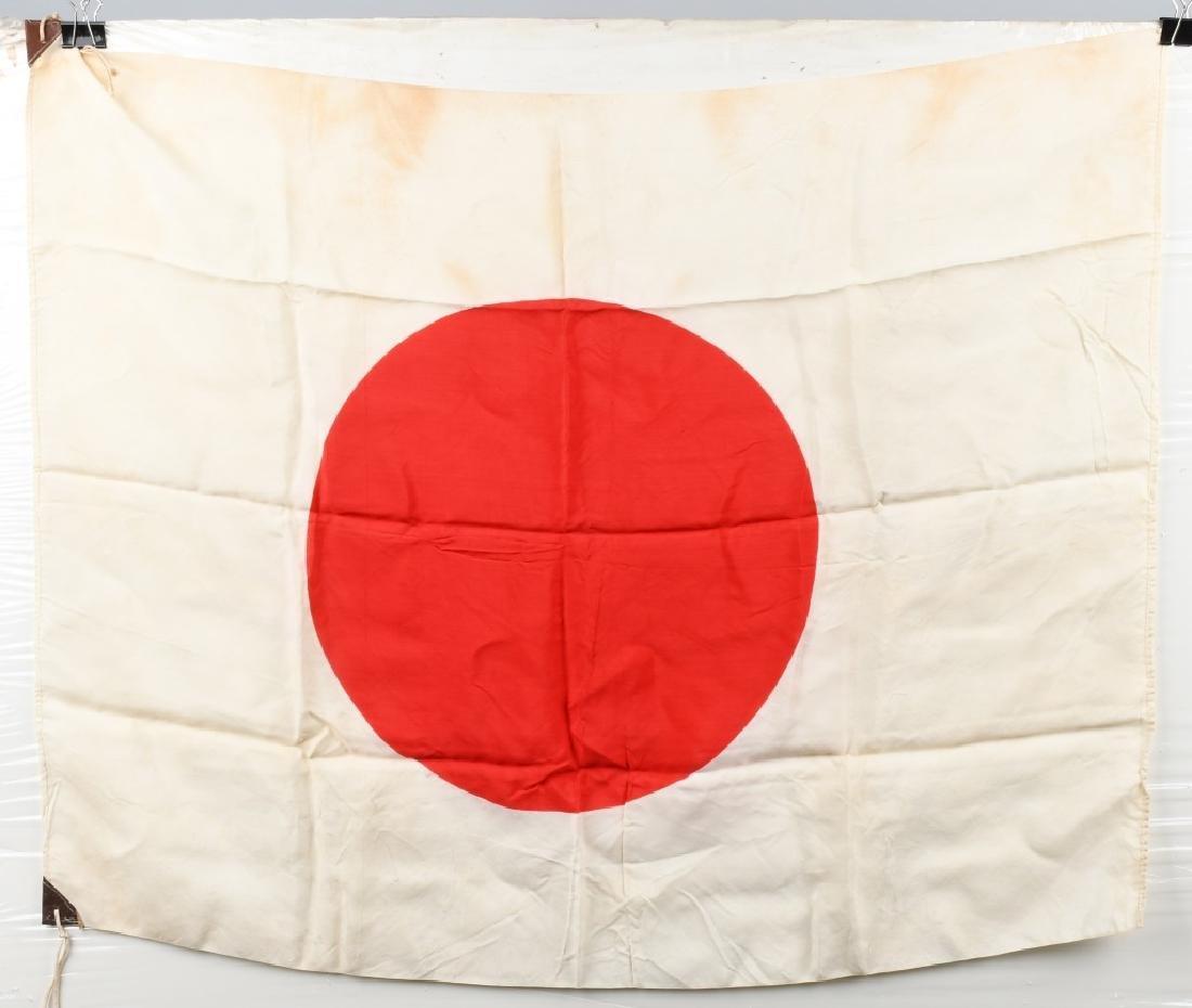 WWII JAPANESE SILK FLAG