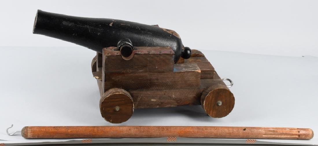 19TH CENTURY SMALL SIGNAL / LINE THROWING CANNON