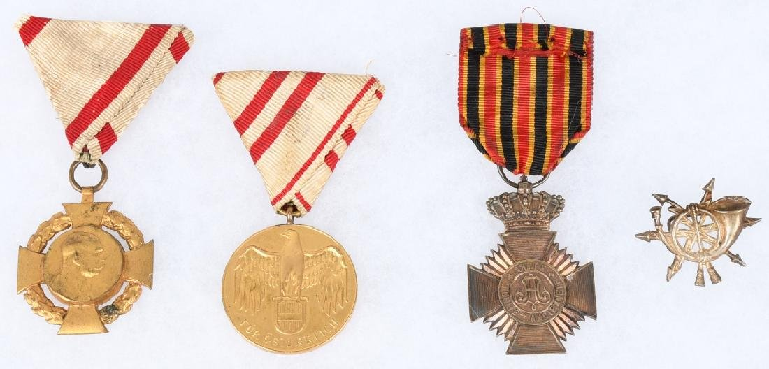 WWI MEDAL LOT (4)