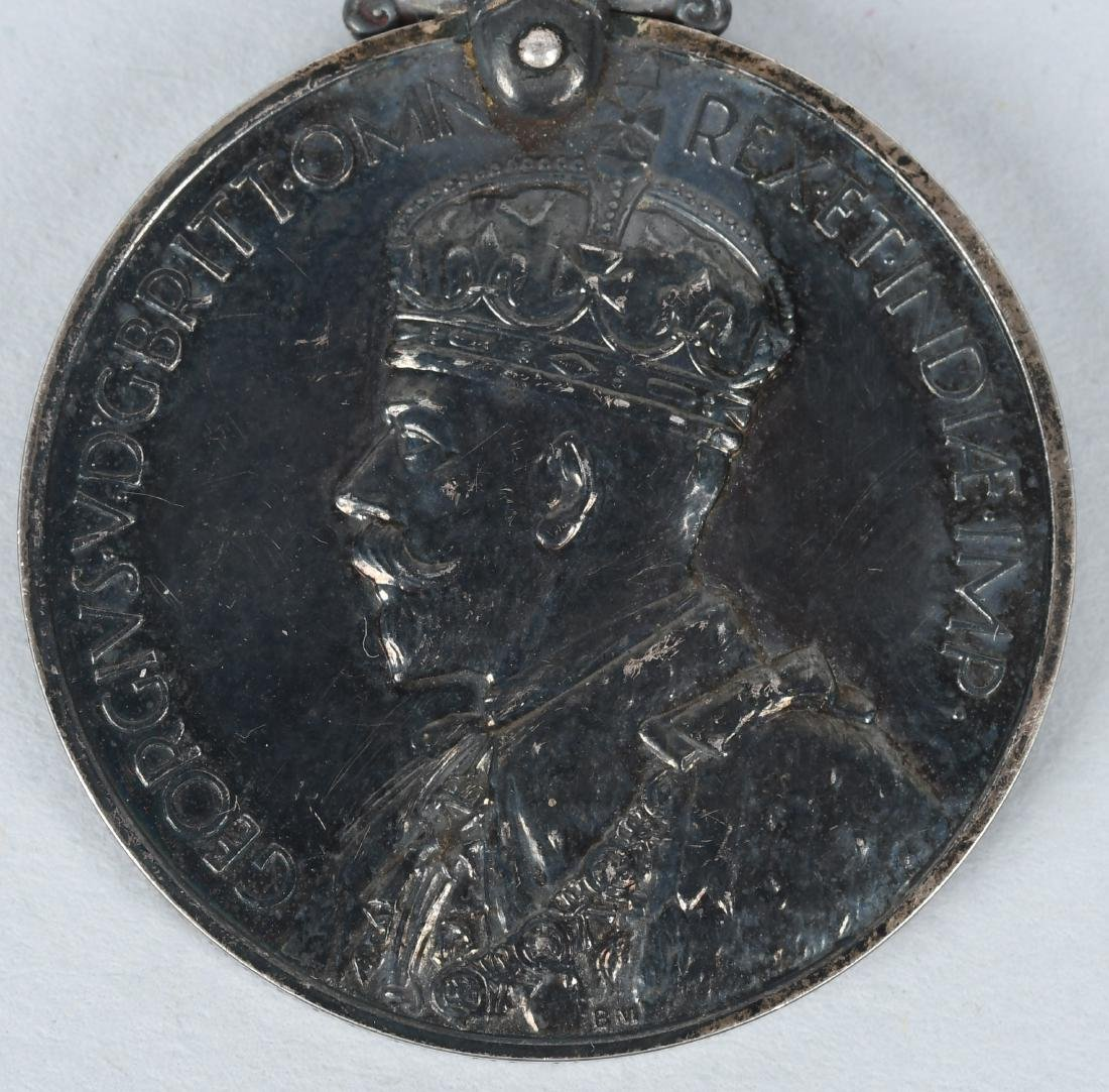 WWI & WWII & POST BRITISH FAITHFUL SERVICE MEDAL S - 4