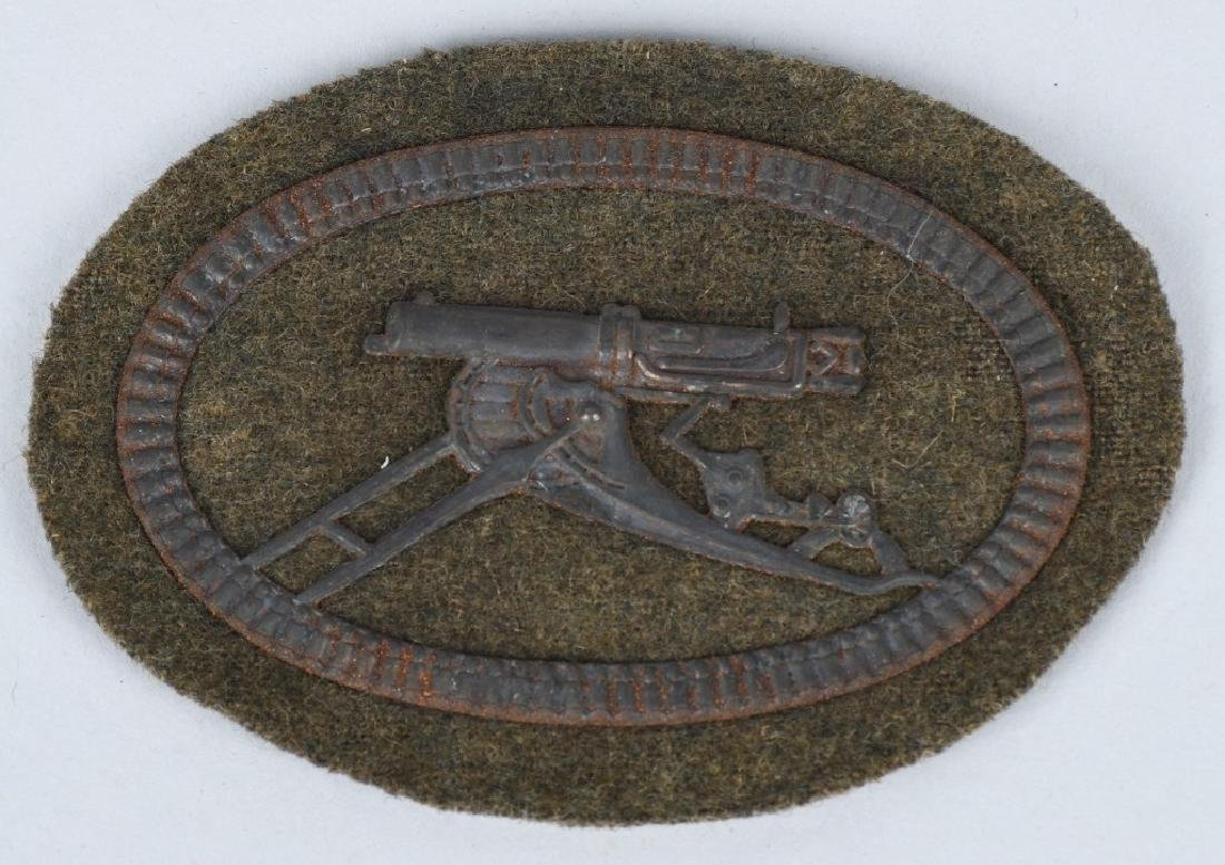 IMPERIAL GERMAN WWI ARMY MACHINE GUNNER'S BADGE