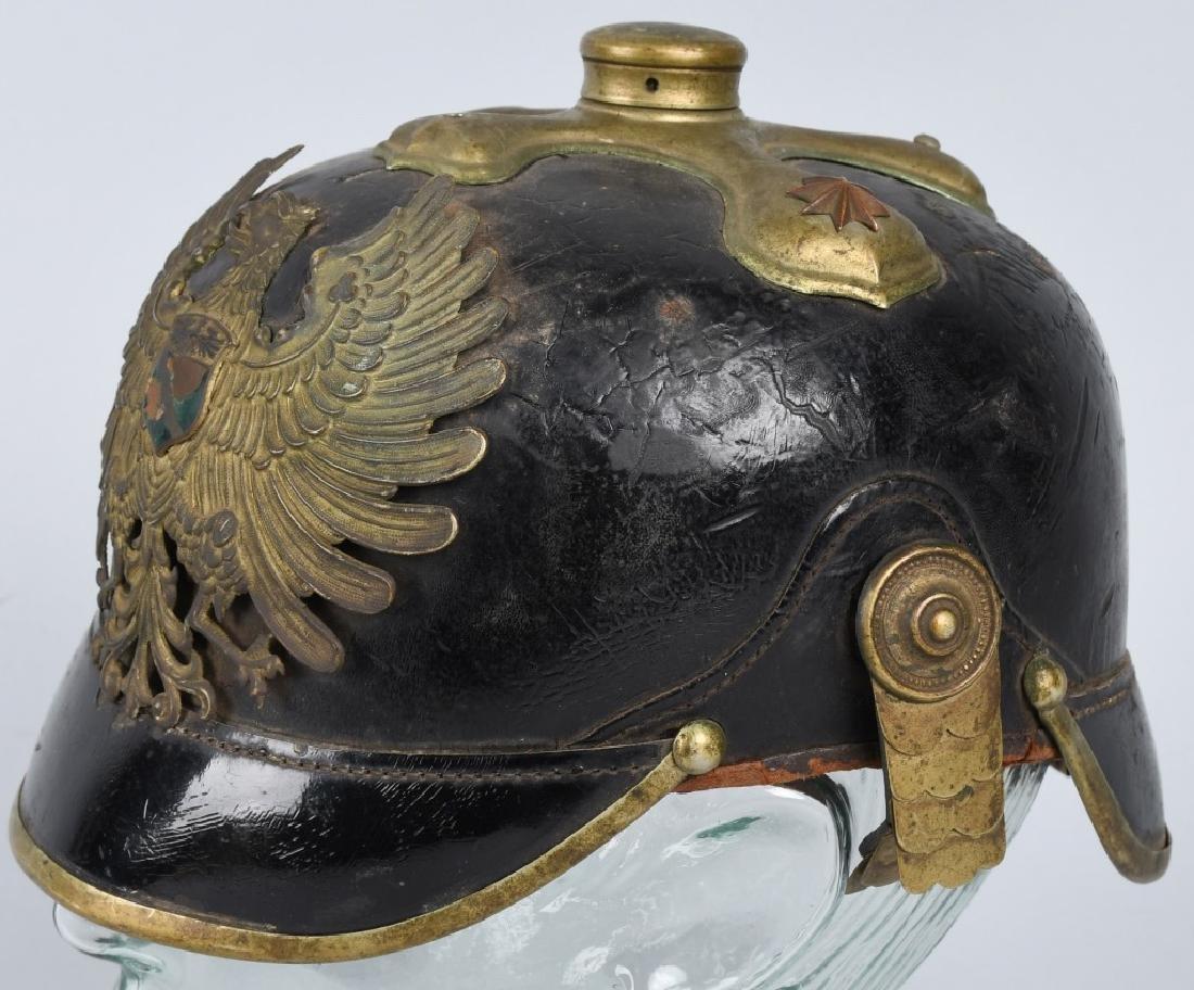 IMPERIAL GERMAN WWI CUSTOMS OFFICER'S SPIKE HELMET