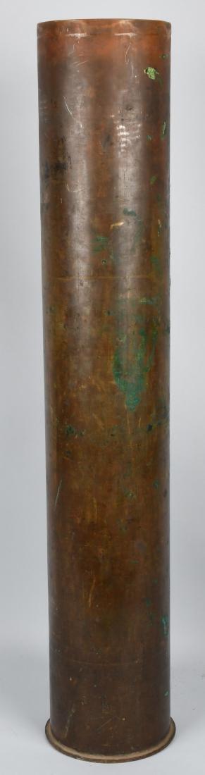 WWI GERMAN 255MM ARTILLERY SHELL CASING 1918