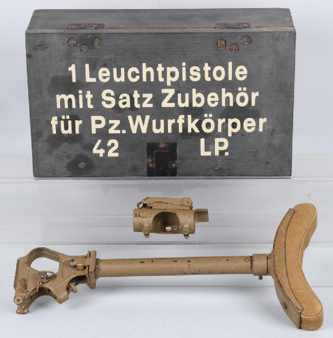 BOXED GERMAN WWII Z PISTOL FOLDING STOCK W SITE