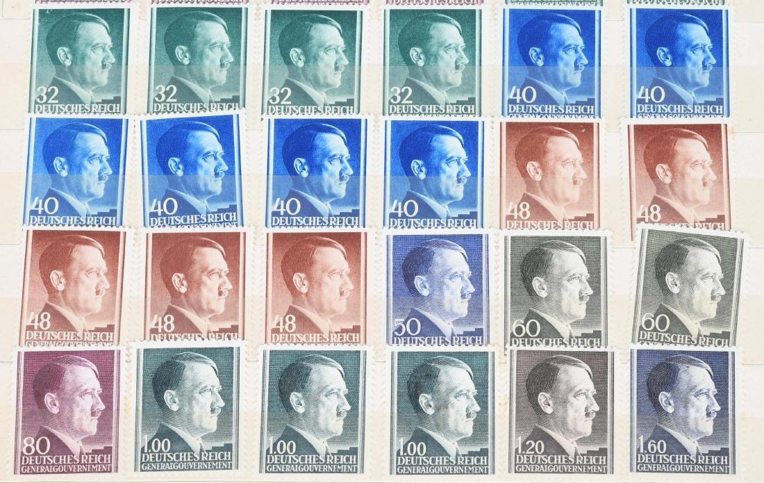 WWII NAZI GERMAN ITALIAN U.S. STAMPS - 12