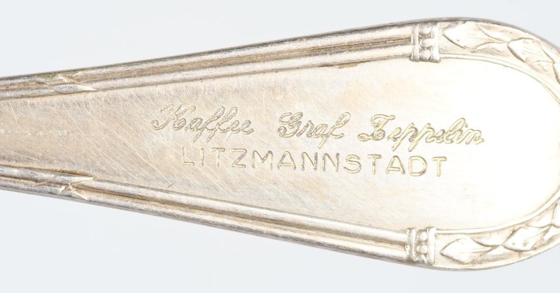WWII NAZI GERMAN GRAF ZEPPELIN MARKED FORK - 3