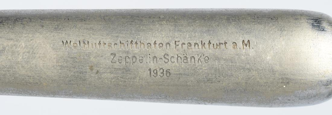 WWII NAZI GERMAN SCHANKE ZEPPELIN MARKED KNIFE - 2