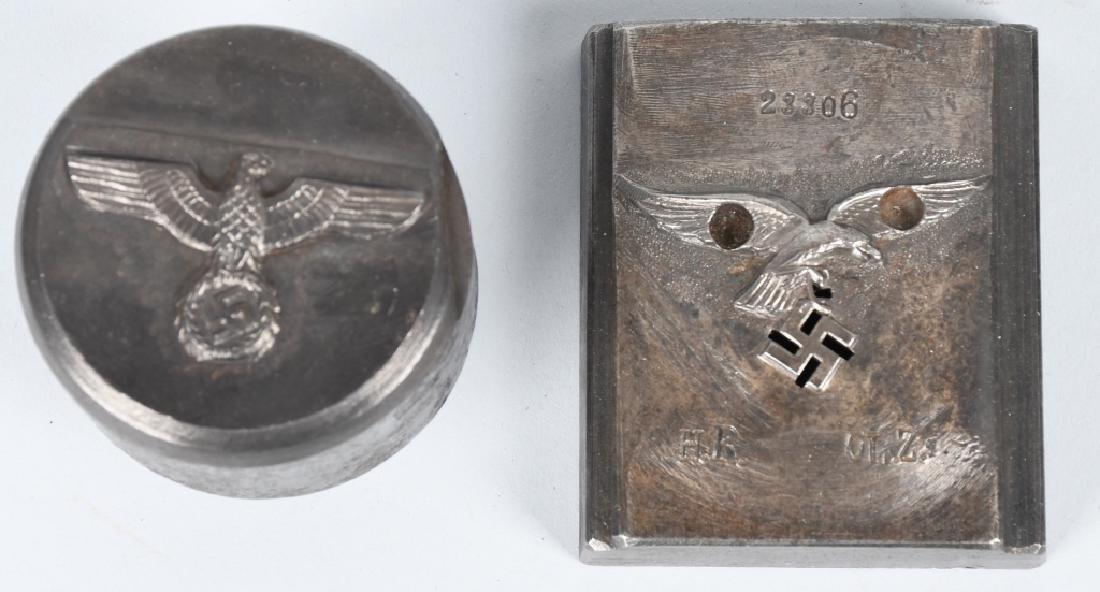WWII NAZI GERMAN ARMY & LUFTWAFFE INSIGNIA DIES