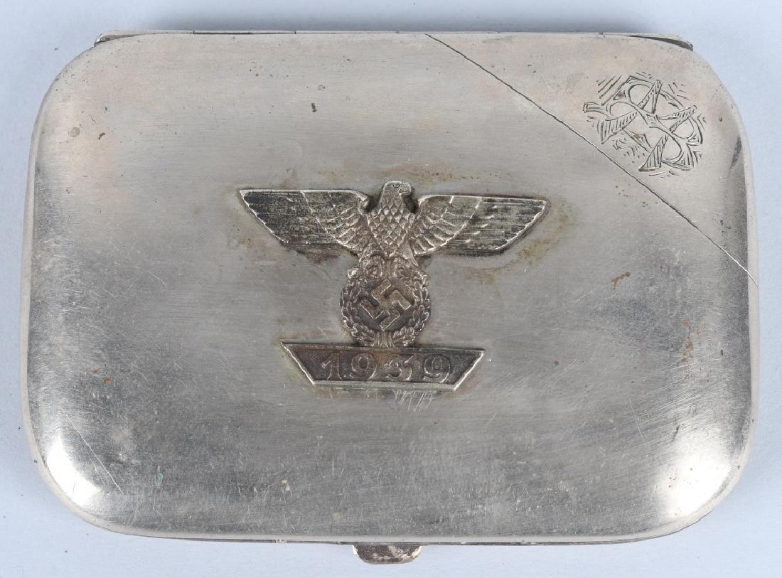 NAZI GERMAN CIGARETTE CASE