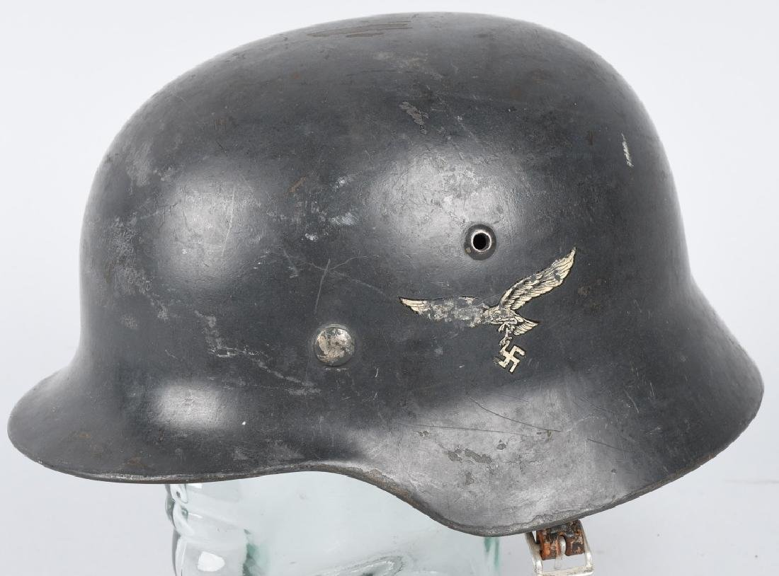WWII LUFTWAFFE M-35 DOUBLE DECAL COMBAT HELMET