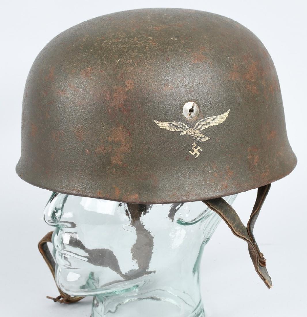 WWII LUFTWAFFE PARATROOPER FALLSCHIRMJAGER HELMET