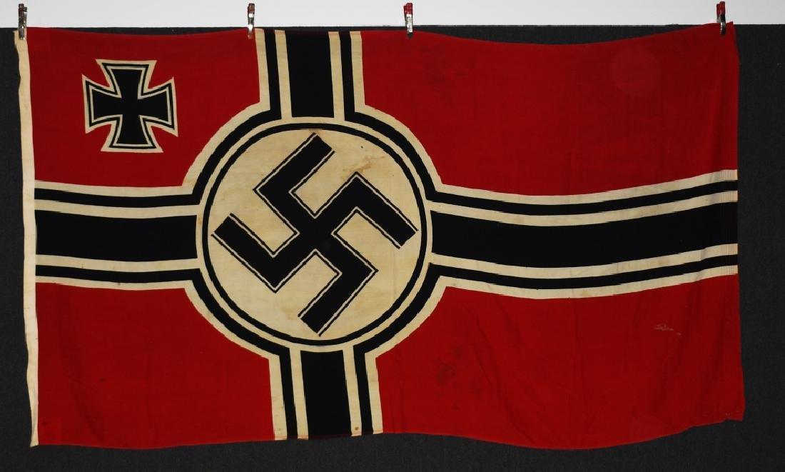 WWII NAZI GERMAN NAVAL KRIEGSMARINE FLAG