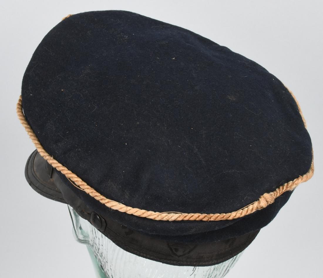 WWII NAZI REICHSKREIGERSBUND VETERANS VISOR HAT - 2